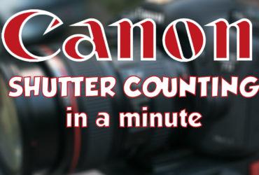 Canon DSLR Auslösungen auslesen